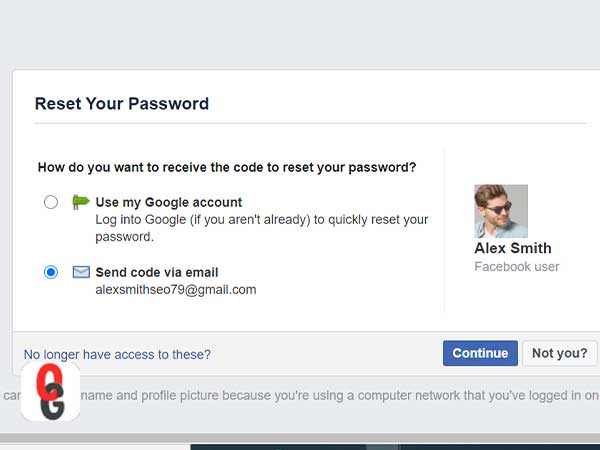 Reset Your Password