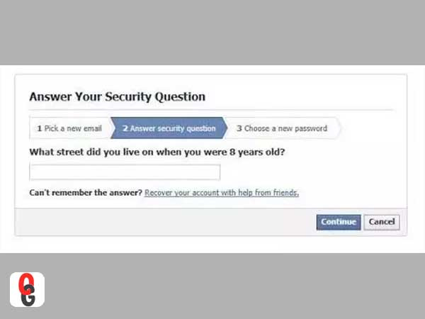 Answer Your Security Question