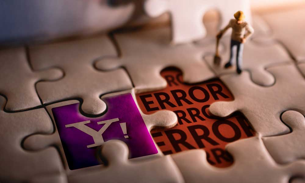 Fix yahoo mail error code 475