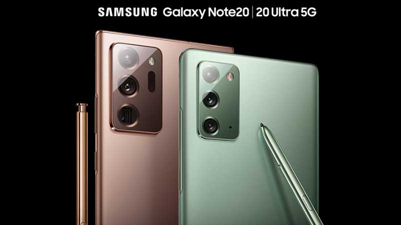 galaxy note 20 features