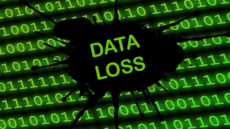 reasons for data loss in RAID systems