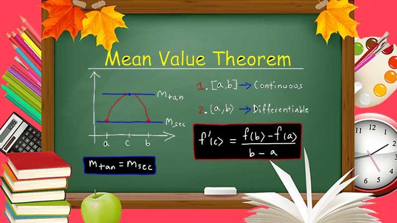 Basics of Mean Value Theorem