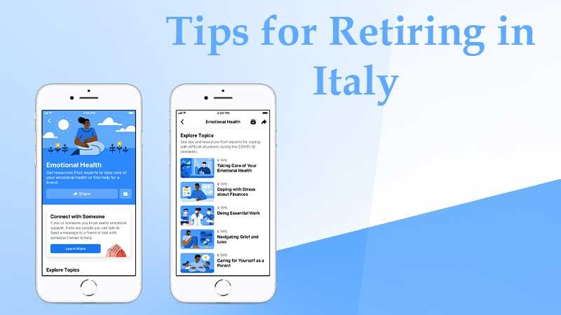 Tips for Retiring in Italy