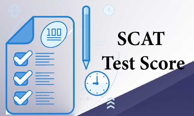 SCAT Test Score