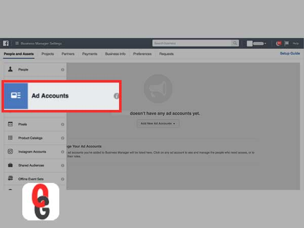 automatically creates a FB Ad Manager account.